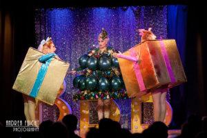 Blonde Bombshell Burlesque - Christmas