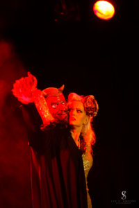 Rose Rainbow Devil in Love