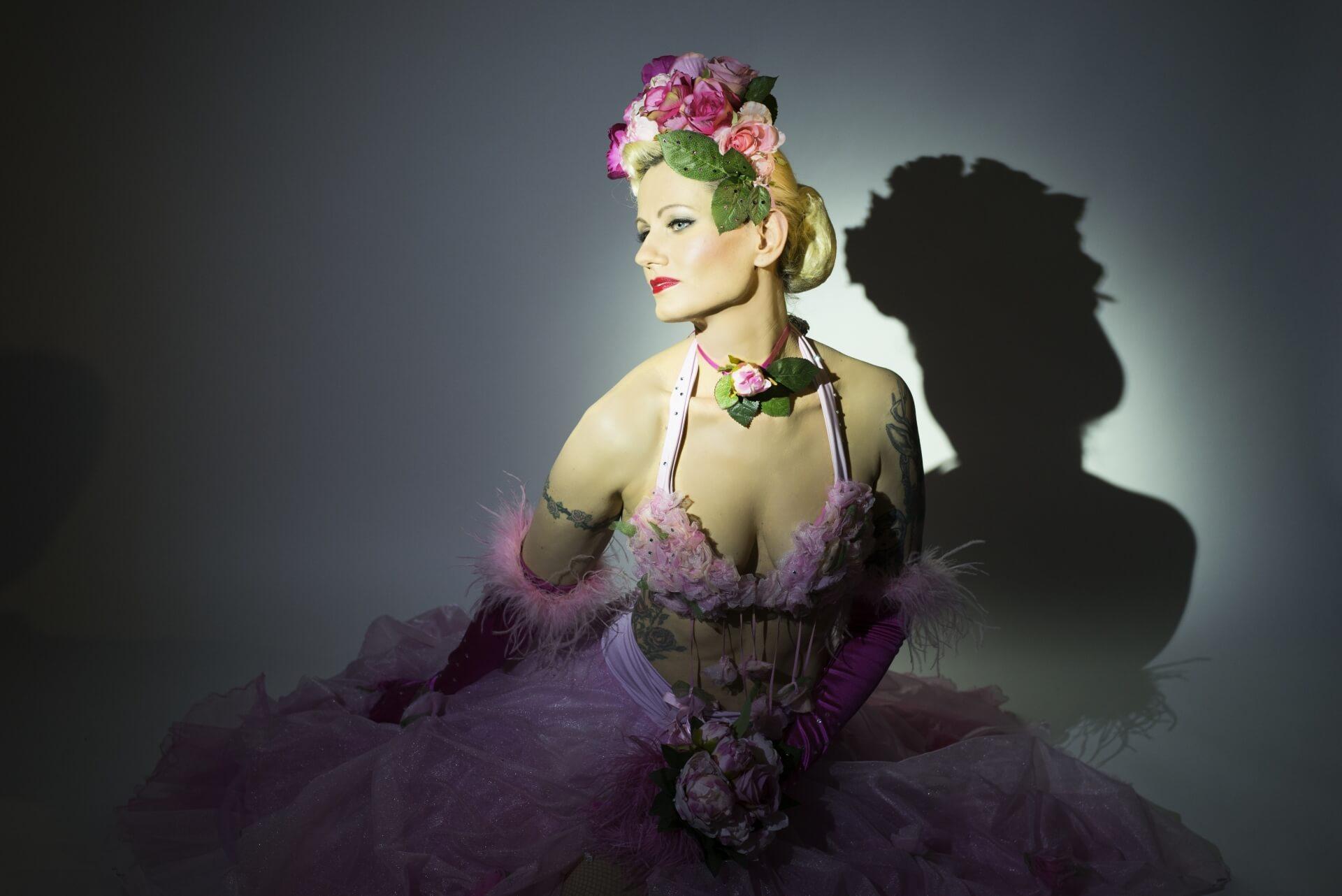 Rose Rainbow Burlesque